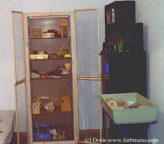 farbmaus info gehege k fig. Black Bedroom Furniture Sets. Home Design Ideas