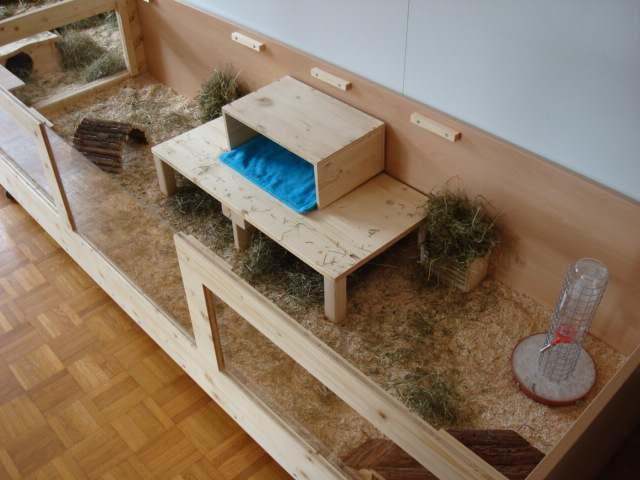hasenk fig selber bauen. Black Bedroom Furniture Sets. Home Design Ideas
